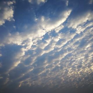 夏末之云在北方